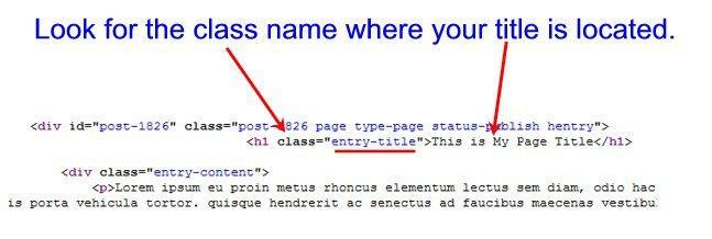 wordpress-page-title-css-class-code