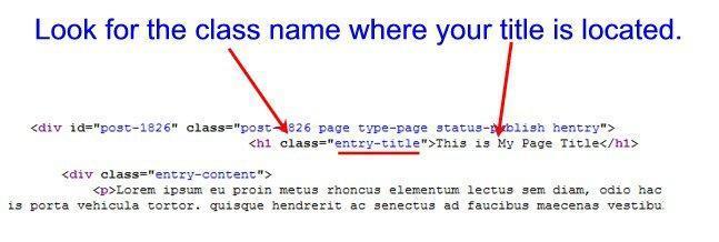 wordpress-page-title-css-class-code