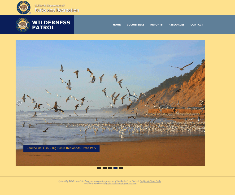 Wilderness Patrol, a project of the Santa Cruz District of the California State Parks
